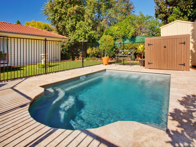 Local Pools and Spas Sydney Fibreglass Pool Builder NSW Compass Pools Courtyard 1