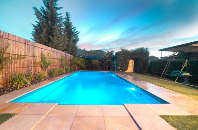 Local Pools and Spas Sydney Pool Builder NSW - Contemporary Fibreglass Swimming Pools Installation 04