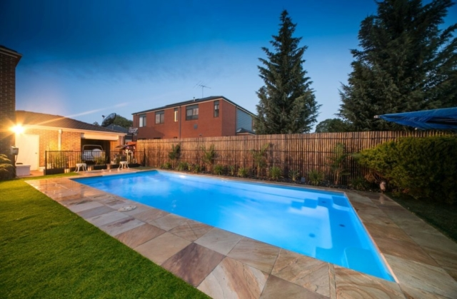 Local Pools and Spas Sydney Pool Builder NSW - Contemporary Fibreglass Swimming Pools Installation 05