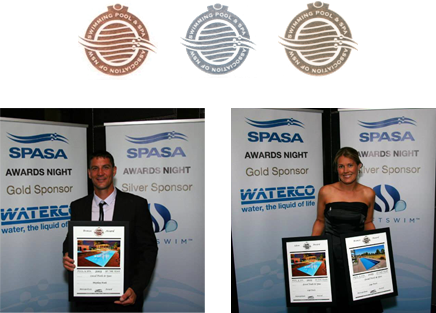 Local Pools ans Spas Swimming Pool Awards