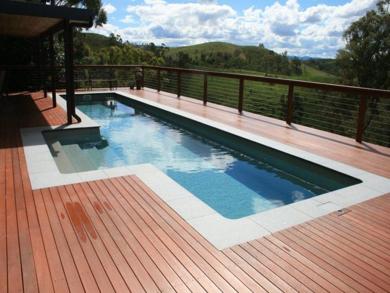 Urban Lifestyle Fibreglass Lap Pool Fast Lane By Local Pools