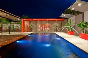 Local Pools and Spas Sydney X-Trainer Fibreglass Pool