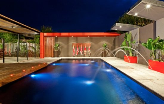 Local Pools and Spas Sydney X-Trainer Fibreglass Pool