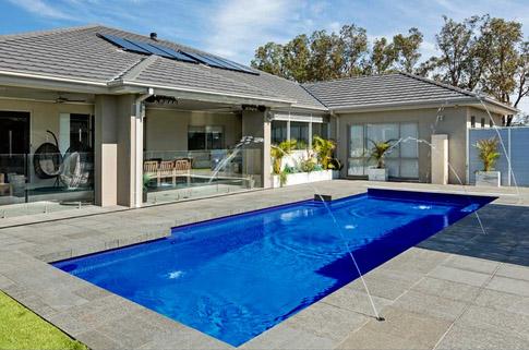 Bi Luminite Fibreglass Swimming Pool Colours By Local Pools