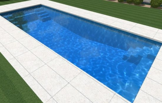 Local Pools and Spas Sydney Contemporary Fibreglass Pool