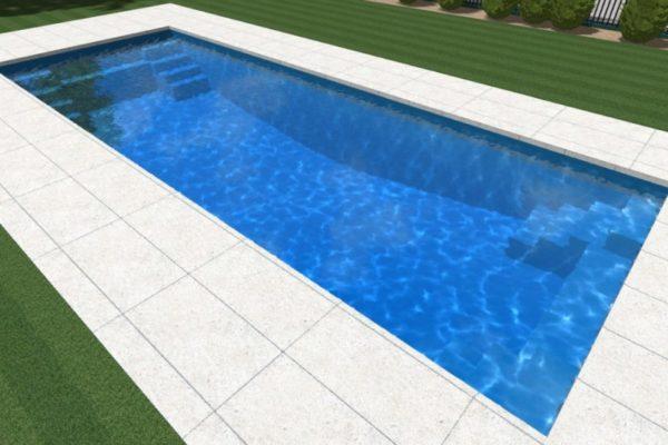 Local Pools and Spas Sydney Contemporary Fibreglass Pool