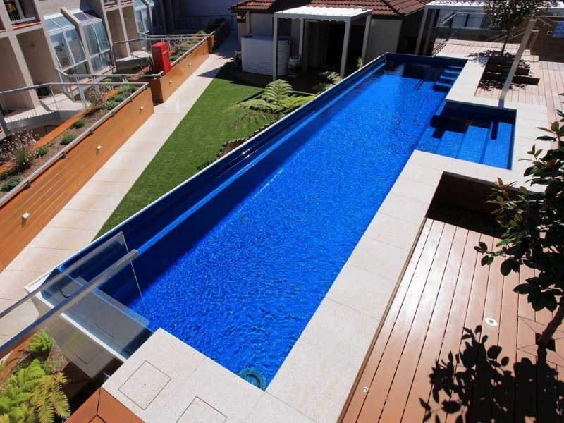 Local Pools And Spas Sydney Above Ground Fibreglass Pools With Maxi Rib 2