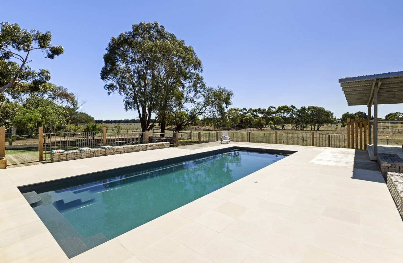 Local Pools and Spas Sydney Pool Builder NSW - Contemporary Fibreglass Swimming  Pools Installation 01