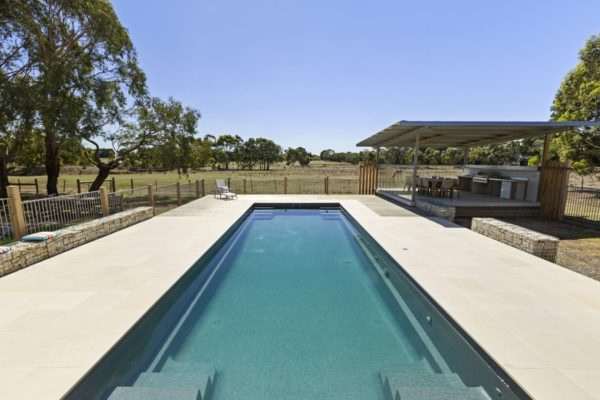 Local Pools and Spas Sydney Pool Builder NSW - Contemporary Fibreglass Swimming Pools Installation 02