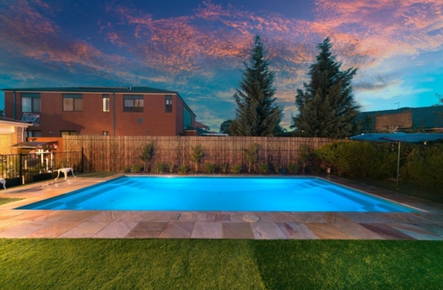 Local Pools and Spas Sydney Pool Builder NSW - Contemporary Fibreglass Swimming Pools Installation 03