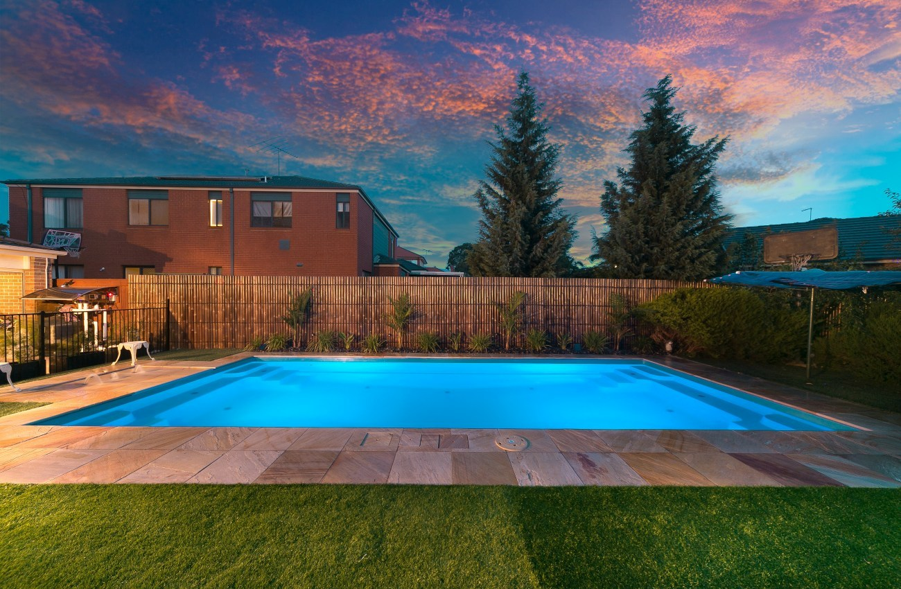 Our range of contemporary swimming pools for your family for Local pool contractors