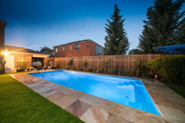 Our range of contemporary swimming pools for your family for Local pool builders